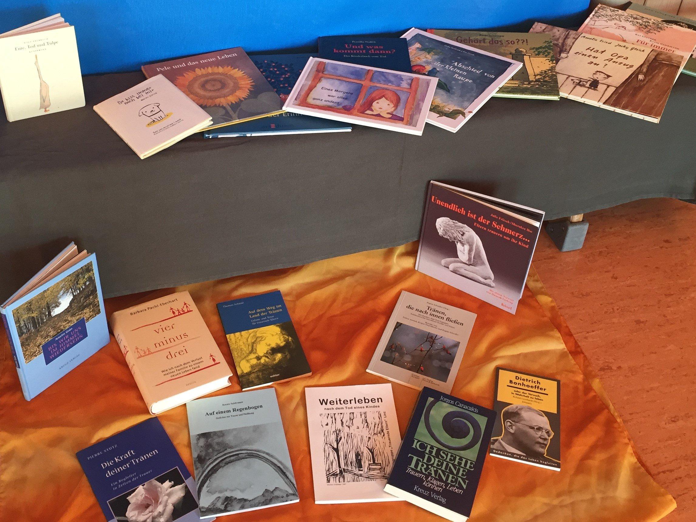 Bücher als Trauerhilfe